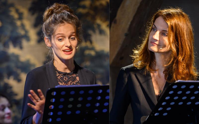 Annie Dutoit und Alma Hasun vermitteln den Klang Europas