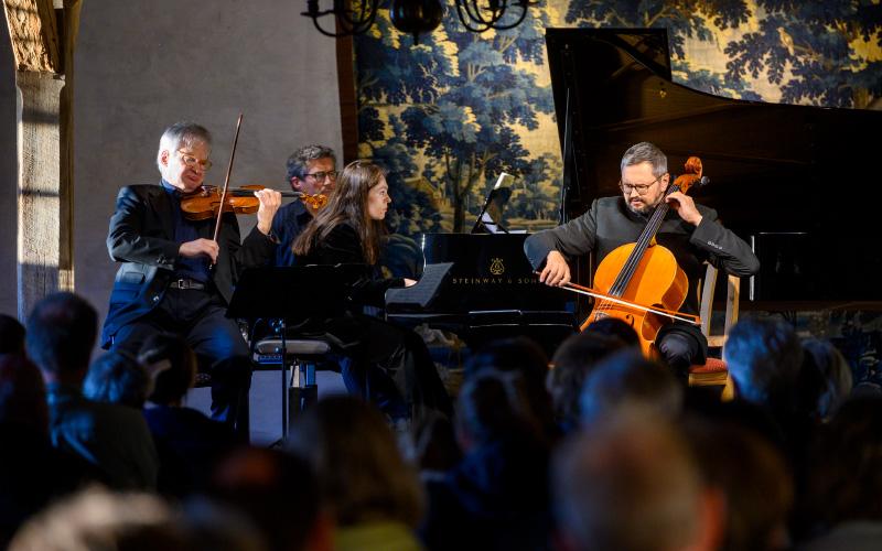 Leonid Gorokhov, Andreas Röhn, Julija Botchkovskaia und Christian Nickel 2019